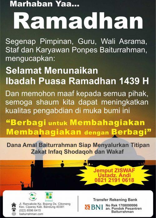 marhaban yaa ramadhan BR 1439 h